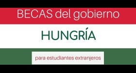 Gobierno de Hungría ofrece becas para estudios de maestría y doctorado