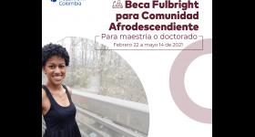 Abierta la convocatoria para la Beca Fulbright para Comunidades Afrodescendientes