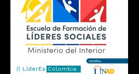 Inscripciones Escuela de Formación de Líderes Sociales para población Indígena o Rrom Gitana