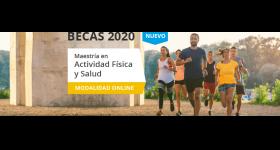 FUNIBER: Becas para cursar la Maestría en Actividad Física y Salud