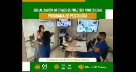 Socialización informe final de prácticas - Programa de Psicología