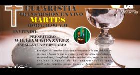 Santa Eucaristía, transmisión en vivo.