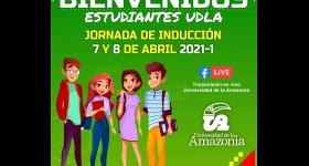 Jornada de inducción a los nuevos estudiantes periodo Académico 2021-I