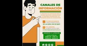Canales de Atención - Programa de Contaduría Pública