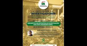 CONFERENCIA AGROMÁTICA: V ENCUENTRO DE INVESTIGADORES EN DIDACTICA Y CURRICULO