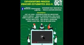 Conversatorio Proceso de inducción estudiantil 2021-II