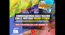 Conversatorio Ciclo Viajero con el invitado Freddy Pitufo