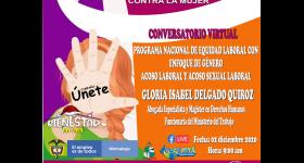 """Jornadas Virtuales Conmemorativas del """"Día Internacional para la Eliminación de la Violencia contra la Mujer"""""""