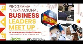 """Universidad de la Amazonia invita al Programa Internacional """"Business – Leaders – Meet Up"""" a realizarse en España"""