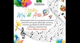 Uniamazonia conmemora el Mes del Arte