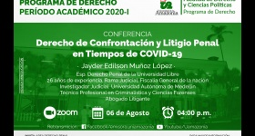 CICLOS DE ACTUALIZACIÓN PROGRAMA DE DERECHO PERÍODO ACADÉMICO 2020-I