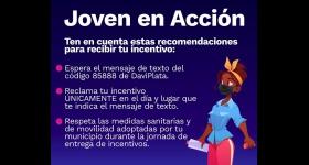 Entrega de Incentivos - Jóvenes en Acción