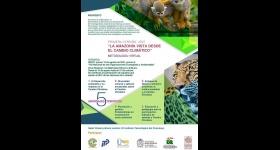 """Inscripciones Abiertas: Cátedra Interinstitucional """"Diálogos Ambientales por la Amazonía"""" en su primera versión: """"La Amazonia Vista Desde el Cambio Climático"""""""