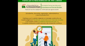 Invitación a participar de los procesos de Reacreditacion de alta calidad - Licenciatura en Ciencias Sociales