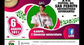 XVII Festival del San Pedrito Universitario - Estudiantes 2021