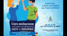 Semana Andina de Prevención de Embarazos 2020