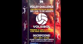 Primer concurso de voleibol virtual