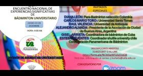PRIMER ENCUENTRO DE EXPERIENCIAS SIGNIFICATIVAS DEL BADMINTON UNIVERSITARIO