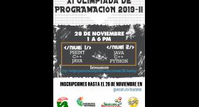 XI Olimpiada de Programación 2019-II