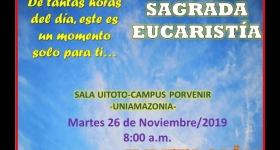 Invitación a Sagrada Eucaristía