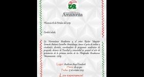 Acto de premiación de la primera versión de las Olimpiadas Académicas Uniamazonia - 2019