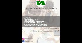Encuesta Oficina Gestión de Información y Comunicaciones - Universidad de la Amazonia