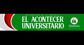 Boletín Informativo de la Universidad de la Amazonia - Marzo 2020