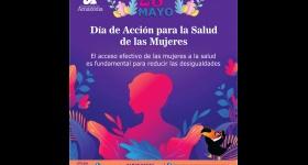 Conmemoración Día de Acción para la Salud de las Mujeres