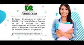 Líneas de Atención JeA Uniamazonia