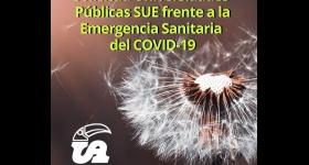 Solicitud Universidades Públicas SUE frente a la emergencia sanitaria del COVID-19
