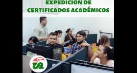 Servicio de Expedición de Certificados Académicos