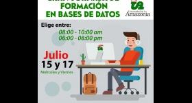 Gran Jornada de Formación en Bases de Datos - Biblioteca Universitaria
