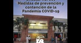 Circular No. 007 - Medidas de prevención y contención de la pandemia COVID-19 – Restricción de ingreso a los Campus Universitarios Porvenir y Centro