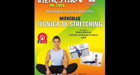 Técnicas de Stretching en el Programa Bienestar en Casa