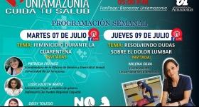Programación Semanal Uniamazonia Cuida tu Salud