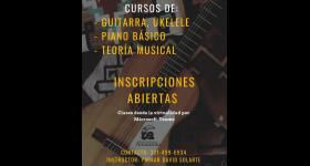 Clases de Música - Bienestar Universitario