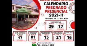 Inscripciones Abiertas - Programas de pregrado presencial 2021-II Acuerdo No. 47 de 2020