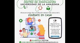 Canales de Atención Virtual  - Consultorio Jurídico y Centro de Conciliación