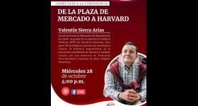 Charla: De la plaza de mercado a Harvard Unidad de Emprendimiento