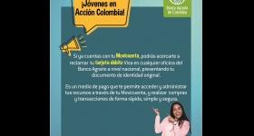Entrega de tarjetas débito Banco Agrario - Jóvenes en Acción
