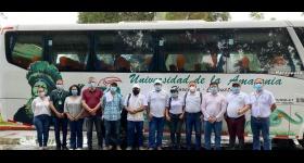 visita a las instalaciones del Centro de Investigaciones Amazónicas Macagual con los diputados del departamento del Caquetá