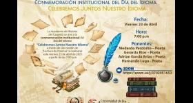"""Sesión de """"Lectura de Poemas"""" - Conmemoración institucional del Día del Idioma"""