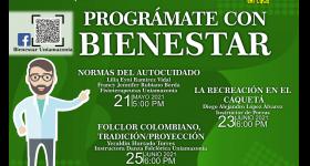 Programación Bienestar Universitario 21 al 25 de Junio