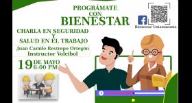 Programación Bienestar Universitario 18 al 21 de Mayo