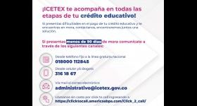Canales de comunicación ICETEX