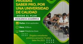 Jornada de Sensibilización - Pruebas Saber Pro