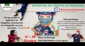 Torneo Virtual Mejor Fotografía Deportiva en Tiempos de Pandemia